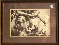 Framed Reproduction Print