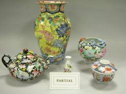 Approximately Thirtythree Pieces of Chinese Porcelain