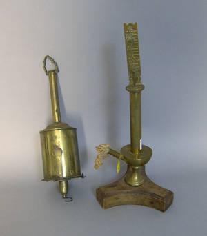 Brass clockwork spit jack