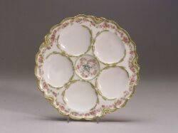 Twelve Haviland Limoges Oyster Plates