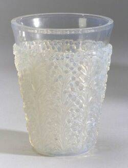 Rene Lalique SaintTropez Opalescent Glass Vase