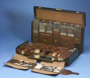 Louis Vuitton Traveling Vanity Case and Accessories