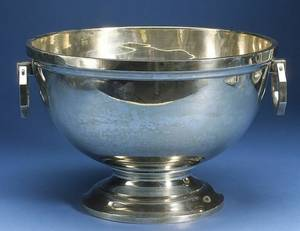 Sterling Silver Punch Bowl