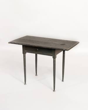 New England painted pine tavern table