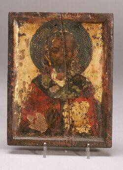 Greek Icon of a Monk Saint