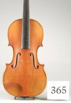 Modern Czech Violin John Juzek Workshop c 1950