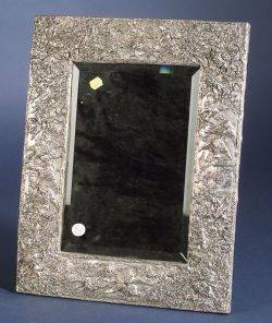 Victorianstyle Sterling Framed Dressing Table Mirror