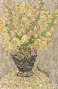 Rifka Angel RussianAmerican b 1899 Bouquet of Flowers