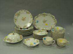 ThirtyPiece Haviland The Countess Pattern Porcelain Partial Dinner Service