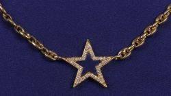 18kt Gold Lapis and Diamond Pendant Necklace Bulgari