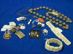 Eighteen Pieces of Assorted Jewelry and Accessories