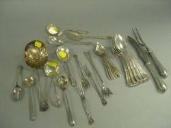 Twentyseven Pieces of Sterling Silver Flatware