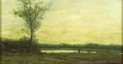 William Baylies Jr American 18591934 Sunset Landscape