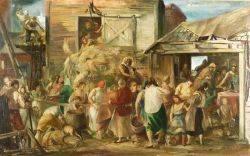 Jon Corbino American 19051964 Harvest Festival