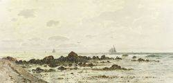George W Harvey American 18351920 Lot of Two Marine Works