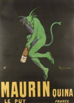 Leonetto Cappiello French 18751942 Maurin Quina Le Puy France