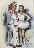 James Carlin IrishAmerican b 1910 The Clown