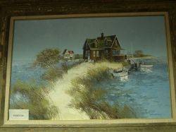 Lot of Two Decorative Paintings