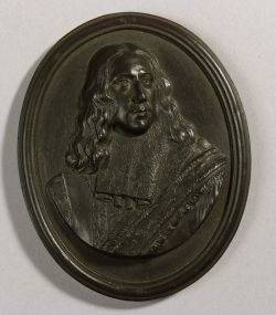 Wedgwood Black Basalt Portrait Medallion of Cornelis De Witt