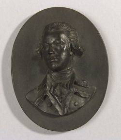 Wedgwood Black Basalt Portrait Medallion of William Pitt