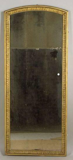 George III Style Giltwood Pier Mirror