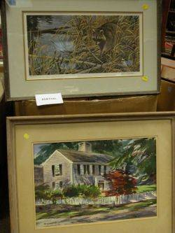 Group of Miscellaneous Framed Paintings and Prints