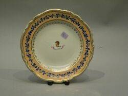 English Crested Porcelain Service Plate