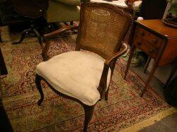 Set of Four French ProvincialStyle Upholstered Chairs