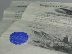 Two Documents Signed by U S Presidents