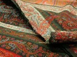 Two Wool Paisley Shawls