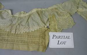 Large Lot of Assorted Late 19th and Early 20th Century Lace and Textiles Items