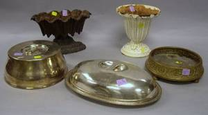 Large Group of Assorted Decorative Metal Items