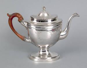Philadelphia silver teapot ca 1805