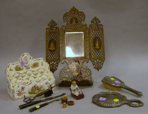 Group of Ten Assorted Decorative and Collectible Items