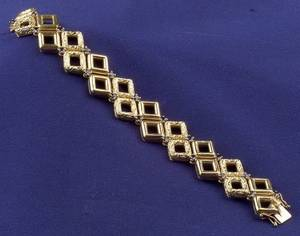 18kt Gold and Sapphire Bracelet Tiffany  Co
