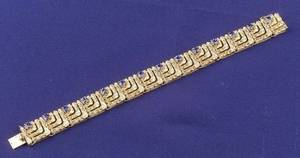 18kt Gold and Sapphire Bracelet Van Cleef  Arpels