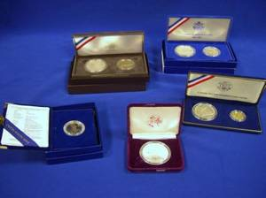 Small Lot of US Commemorative Coins and Proofs