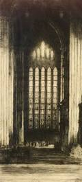 Sir David Young A Cameron British 18651945 The Five Sisters York Minster
