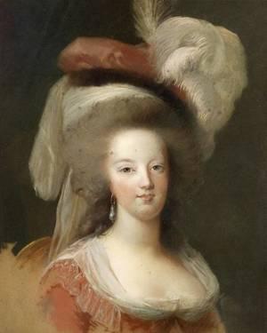 James Wells Champney American 18431903 After LouiseElizabeth VigeeLebrun French 17551842 Marie Antoinette