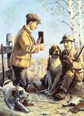 William Harnden Foster American 18861941 Happening Upon the Hunter
