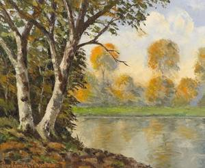 Paul Emile Pissarro French 18841972 Automne