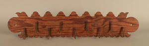 Continental pine utensil rack