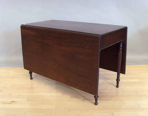 Sheraton mahogany drop leaf table