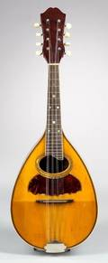 American Mandolin probably Larson Brothers for Wurlitzer Inc c 1915