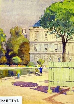 Lot of Three Watercolors of European Views