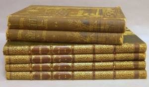 Set of Four Gilt LeatherBound Gerome