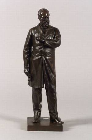 American Bronze Figure of President James A Garfield