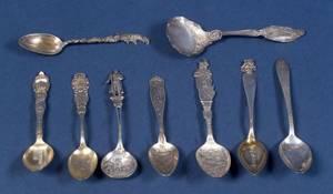 ThirtyEight American Sterling Souvenir Spoons