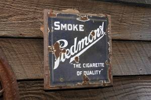 Small Smoke Piedmont Sign