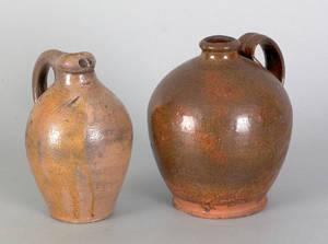 Redware jug 19th c